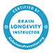 Use of the exclusive Brain Longevity® Specialist logo